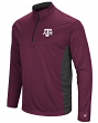 "Texas A&M Aggies NCAA ""Audible"" 1/4 Zip Pullover Men's L/S Wind Shirt"