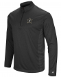"Vanderbilt Commodores NCAA ""Audible"" 1/4 Zip Pullover Men's L/S Wind Shirt"