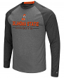 "Oklahoma State Cowboys NCAA ""Ultra"" Men's Long Sleeve Charcoal Raglan T-Shirt"