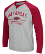 "Arkansas Razorbacks NCAA ""Turf"" Men's Pullover Crew Sweatshirt"