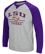 "LSU Tigers NCAA ""Turf"" Men's Pullover Crew Sweatshirt"