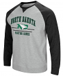 "North Dakota Fighting Hawks NCAA ""Turf"" Men's Pullover Crew Sweatshirt"