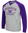 "Washington Huskies NCAA ""Turf"" Men's Pullover Crew Sweatshirt"