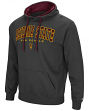 "Arizona State Sun Devils ""End Zone"" Pullover Hooded Men's Sweatshirt - Charcoal"