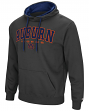 "Auburn Tigers NCAA ""End Zone"" Pullover Hooded Men's Sweatshirt - Charcoal"