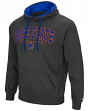 """Boise State Broncos NCAA """"End Zone"""" Pullover Hooded Men's Sweatshirt - Charcoal"""