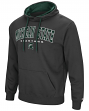 Michigan State Spartans NCAA End Zone Pullover Hooded Men's Charcoal Sweatshirt