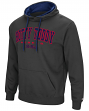Mississippi Ole Miss Rebels End Zone Pullover Hooded Men's Sweatshirt - Charcoal