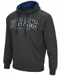 "Notre Dame Fighting Irish ""End Zone"" Pullover Hooded Men's Sweatshirt - Charcoal"