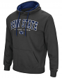 "Penn State Nittany Lions ""End Zone"" Pullover Hooded Men's Sweatshirt - Charcoal"
