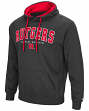 Rutgers Scarlet Knights NCAA End Zone Pullover Hooded Men's Charcoal Sweatshirt