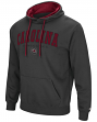 "South Carolina Gamecocks ""End Zone"" Pullover Hooded Men's Sweatshirt - Charcoal"
