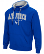 "Air Force Falcons NCAA ""End Zone"" Pullover Hooded Men's Sweatshirt - Blue"