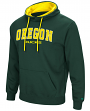 "Oregon Ducks NCAA ""End Zone"" Pullover Hooded Men's Sweatshirt - Green"