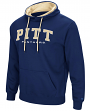 "Pittsburgh Panthers NCAA ""End Zone"" Pullover Hooded Men's Sweatshirt - Navy"