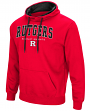 Rutgers Scarlet Knights NCAA End Zone Pullover Hooded Men's Sweatshirt - Red