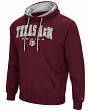 "Texas A&M Aggies NCAA ""End Zone"" Pullover Hooded Men's Sweatshirt - Maroon"