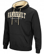 "Vanderbilt Commodores NCAA ""End Zone"" Pullover Hooded Men's Sweatshirt - Black"
