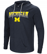 "Michigan Wolverines NCAA ""Big Air"" Men's Long Sleeve Hooded T-Shirt"