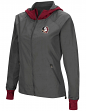 "Florida State Seminoles NCAA Women's ""Backside"" Full Zip Hooded Charcoal Jacket"