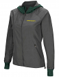 "Oregon Ducks NCAA Women's ""Backside"" Full Zip Hooded Charcoal Jacket"