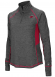 "Arkansas Razorbacks Women's NCAA ""Sabre"" 1/4 Zip Pullover Sweatshirt"