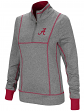 "Alabama Crimson Tide Women's NCAA ""10K Runner"" 1/4 Zip Pullover Shirt"
