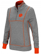 "Clemson Tigers Women's NCAA ""10K Runner"" 1/4 Zip Pullover Shirt"