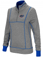 "Florida Gators Women's NCAA ""10K Runner"" 1/4 Zip Pullover Shirt"