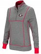 "Georgia Bulldogs Women's NCAA ""10K Runner"" 1/4 Zip Pullover Shirt"
