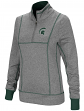 "Michigan State Spartans Women's NCAA ""10K Runner"" 1/4 Zip Pullover Shirt"