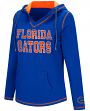"Florida Gators Women's NCAA ""Spike"" V-neck Pullover Hooded Sweatshirt"