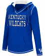 "Kentucky Wildcats Women's NCAA ""Spike"" V-neck Pullover Hooded Sweatshirt"