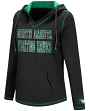 "North Dakota Fighting Hawks Women's NCAA ""Spike"" V-neck Pullover Hooded Sweatshirt"