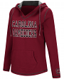 South Carolina Gamecocks Women's NCAA Spike V-neck Pullover Hooded Sweatshirt