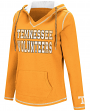 "Tennessee Volunteers Women's NCAA ""Spike"" V-neck Pullover Hooded Sweatshirt"