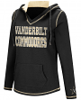 "Vanderbilt Commodores Women's NCAA ""Spike"" V-neck Pullover Hooded Sweatshirt"