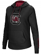 South Carolina Gamecocks Women's NCAA Inward Crossover Neck Hooded Sweatshirt