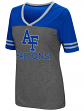 "Air Force Falcons Women's NCAA ""McTwist"" Dual Blend V-neck T-Shirt"