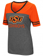"Oklahoma State Cowboys Women's NCAA ""McTwist"" Dual Blend V-neck T-Shirt"