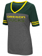 "Oregon Ducks Women's NCAA ""McTwist"" Dual Blend V-neck T-Shirt"