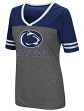 "Penn State Nittany Lions Women's NCAA ""McTwist"" Dual Blend V-neck T-Shirt"