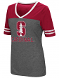 "Stanford Cardinal Women's NCAA ""McTwist"" Dual Blend V-neck T-Shirt"