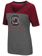 "South Carolina Gamecocks Women's NCAA ""McTwist"" Dual Blend V-neck T-Shirt"