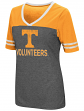 "Tennessee Volunteers Women's NCAA ""McTwist"" Dual Blend V-neck T-Shirt"