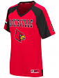 "Louisville Cardinals Women's NCAA ""Torch"" Fashion Football Jersey"