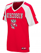 "Wisconsin Badgers Women's NCAA ""Torch"" Fashion Football Jersey"