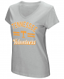 "Tennessee Volunteers Women's NCAA ""Hurdle"" Dual Blend V-neck T-Shirt"