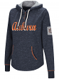 "Auburn Tigers Women's NCAA ""Double Double"" Hooded Henley Sweatshirt"