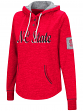 "North Carolina State Wolfpack Women's NCAA ""Double"" Hooded Henley Sweatshirt"